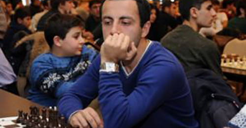 Hrant Melkumyan is sole leading player at Sunway Sitges International Chess Festival
